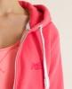 Superdry Orange Label Zip Hoodie Pink