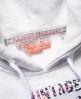 Superdry Vintage Logo Infill Hoodie Grey