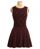 Superdry Erin Skater Dress Red