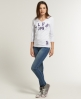 Superdry Old English T-shirt White