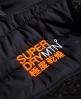Superdry Storm Hybrid Zip hættetrøje  Sort