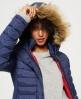Superdry Veste à capuche à double zip Fuji Slim Bleu Marine