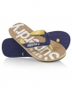 Superdry Cork Flip Flops Navy