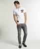 Superdry Twist Yarn Pique Polo White