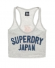 Superdry Cheerleader Vest Grey