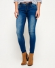Superdry Cassie Skinny Jeans Mid Blue