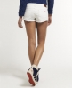 Superdry Raw Edge Hotpants White