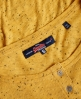 Superdry Beatnik Neppy Grandad T-Shirt  Gelb