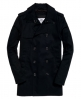 Superdry Winter Rogue Trench Coat  Black