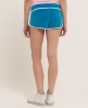Superdry Ventura Velvet Hotpants Blue