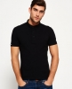 Superdry City Polo Shirt Black