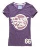 Superdry Speed T-shirt Purple