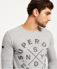Superdry Camiseta de manga larga Surplus Goods Graphic Gris