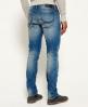 Superdry Corporal slim jeans Blå