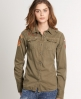 Superdry On Duty Lite Shirt Green