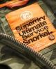 Superdry Service Snorkel Jacket Green
