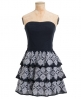 Superdry 50s Folklore Dress Navy