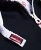 Superdry Sweat zippé à capuche Track & Field  Bleu Marine