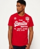 Superdry Classic Limited Edition Football T-shirt Red