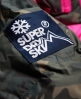 Superdry Retro Chevron Down Puffer Jacket Green