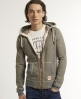 Superdry Preston Zip Hoodie Grey