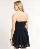 Superdry Summer Lace Dress Navy