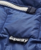 Superdry Retro Sherpa Gilet Blue