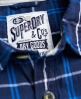 Superdry Lumberjack Shirt Navy