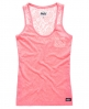 Superdry Super Sewn Lace Top Pink