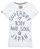 Superdry Body and Soul T-shirt White