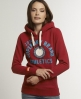 Superdry Applique Hoodie Red