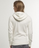 Superdry Appliqué Zip Hoodie Cream