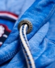 Superdry Tri League Slouch Hoodie Kleid  Blau