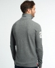 Superdry Super State Long Sleeve Polo Shirt Grey