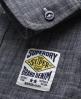 Superdry Raw Riveter Shirt Blue