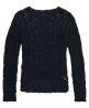 Superdry Cable Aero Knit Jumper Navy