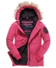 Superdry Everest Coat Pink