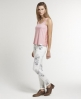 Superdry Lace Loose Vest Pink