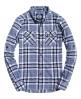 Superdry Refined Lumberjack Shirt Navy