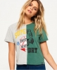 Superdry T-shirt Corner Back Vert
