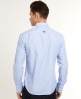 Superdry Cut Collar Shirt Blue