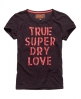 Superdry Laser Lace Top Red