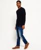 Superdry Corporal Slim Jeans Blau