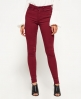 Superdry Sophia High Waist Super Skinny  Red