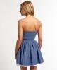 Superdry 50's Colour Dress Blue
