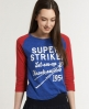 Superdry Knock 'Em Down T-shirt Blue