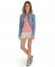 Superdry Winter Lace Button Vest Pink