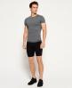 Superdry Gym Sport Runner Shorts Black