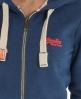 Superdry Vintage Zip Hoodie Blue