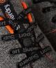 Superdry Chaussures de course Scuba Gris Foncé